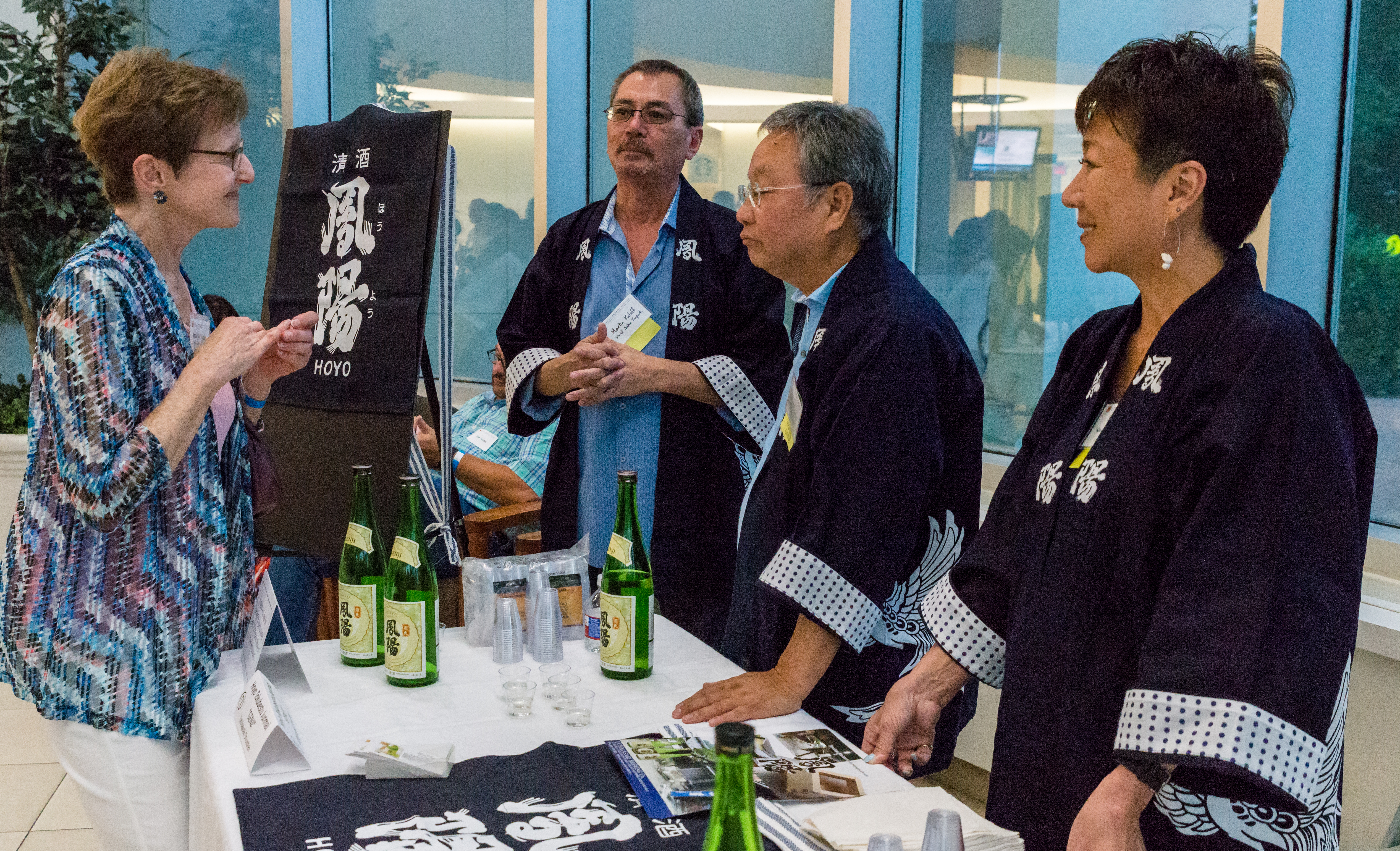Sake Tasting & Discussion – with Premium Sake Brewers from Japan