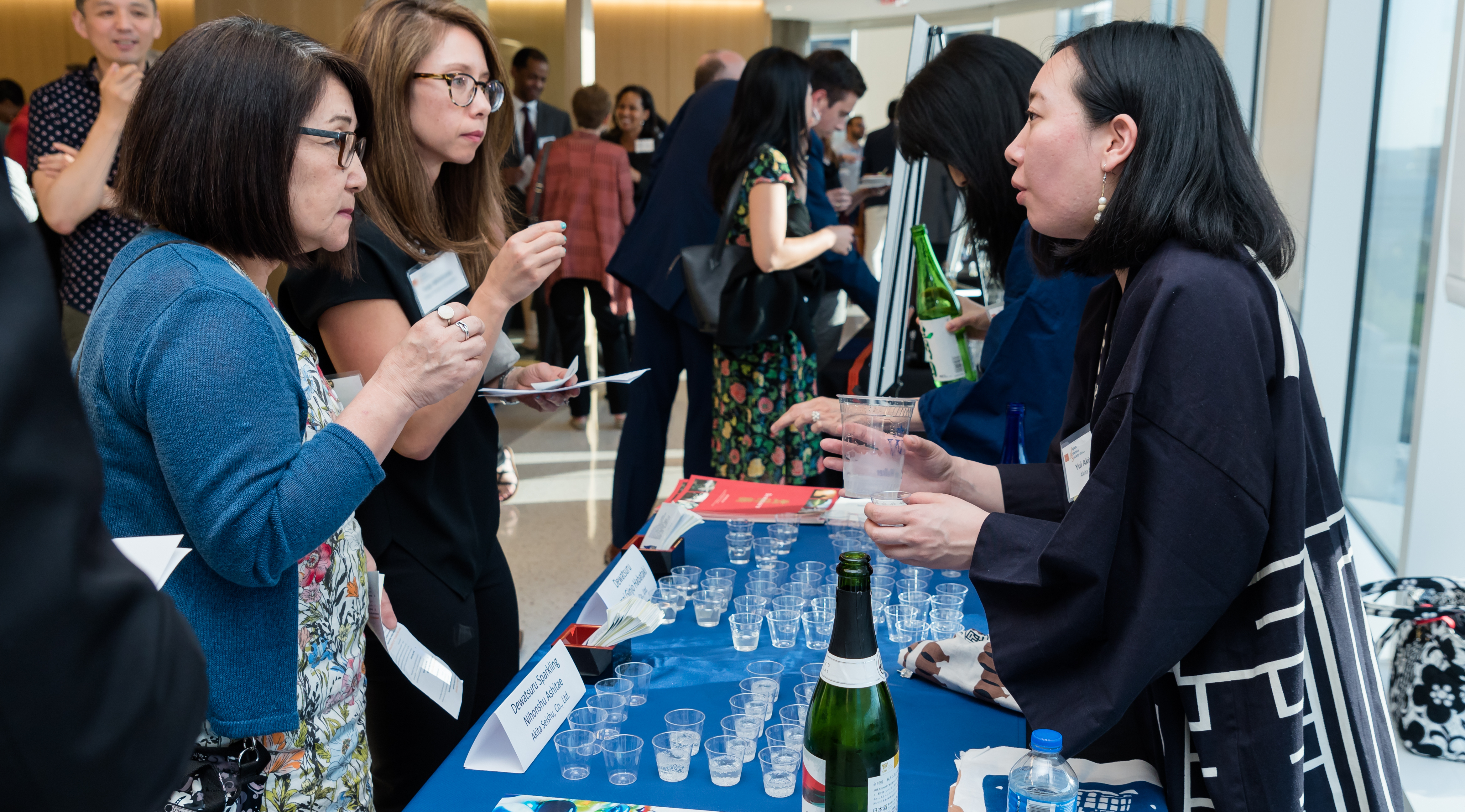 Sake Tasting and Lecture with Premium Sake Brewers from Japan