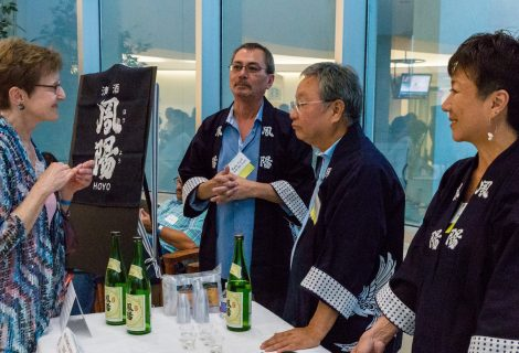 Sake Tasting Brings Japanese Brewers to Texas