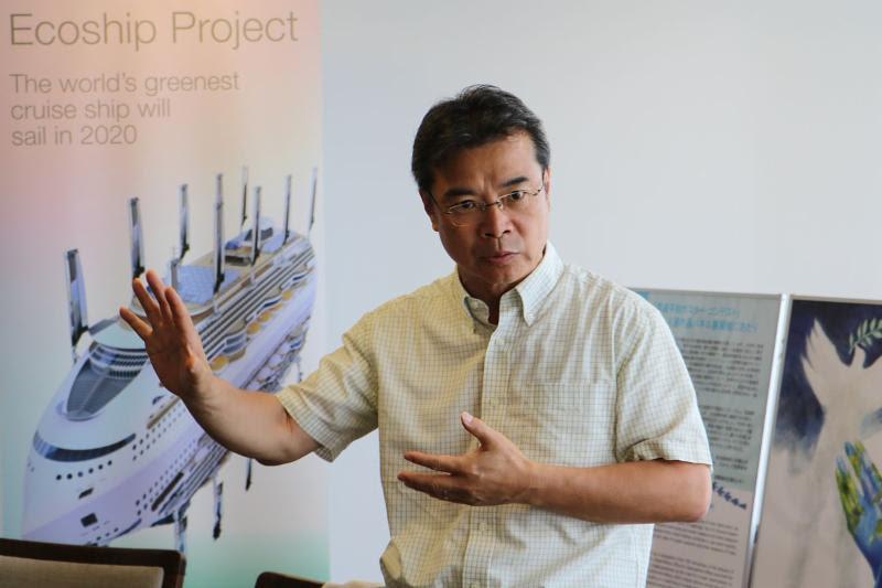 Peace Boat Founder Yoshioka Tatsuya at EarthX