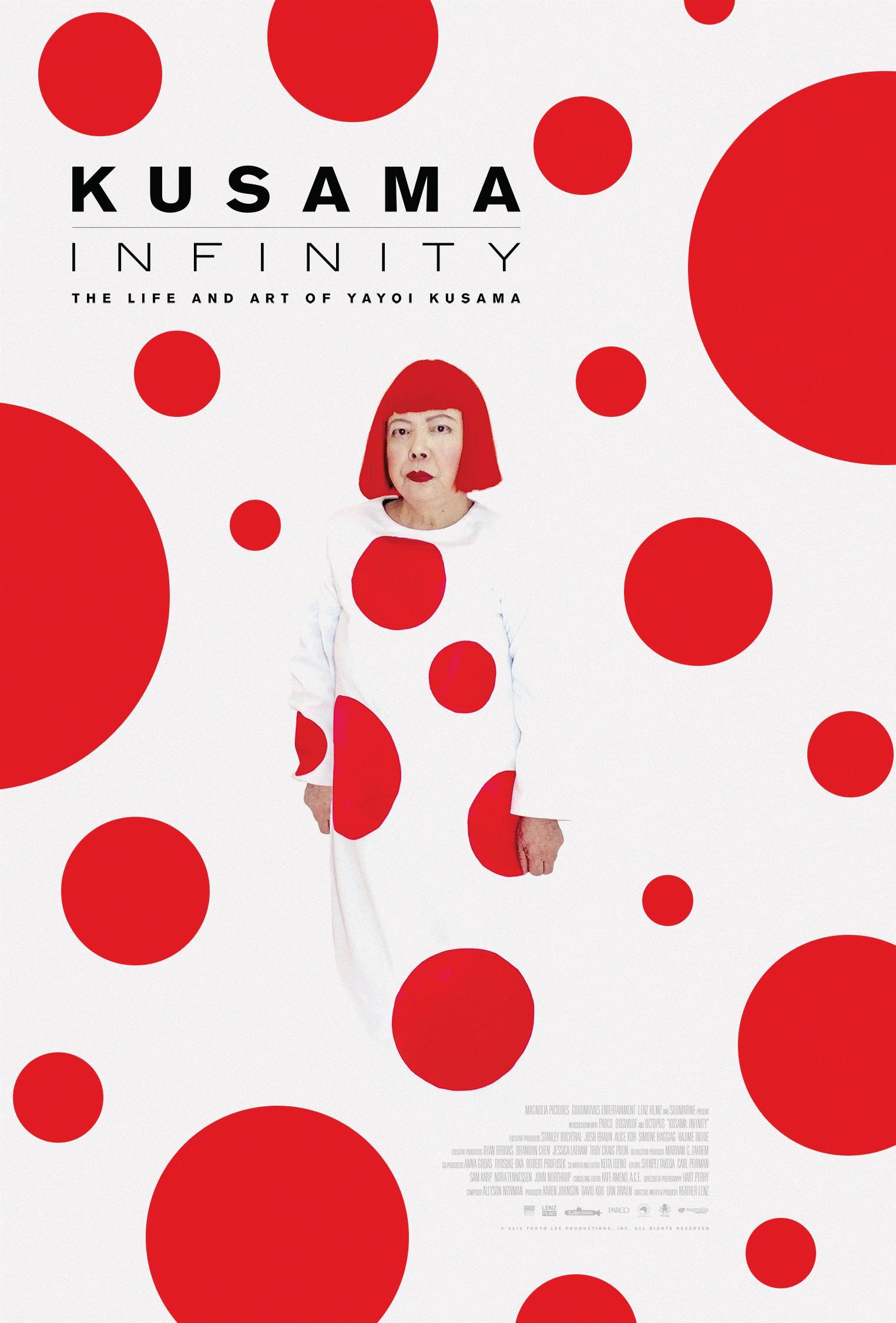 Kusama Infinity Poster