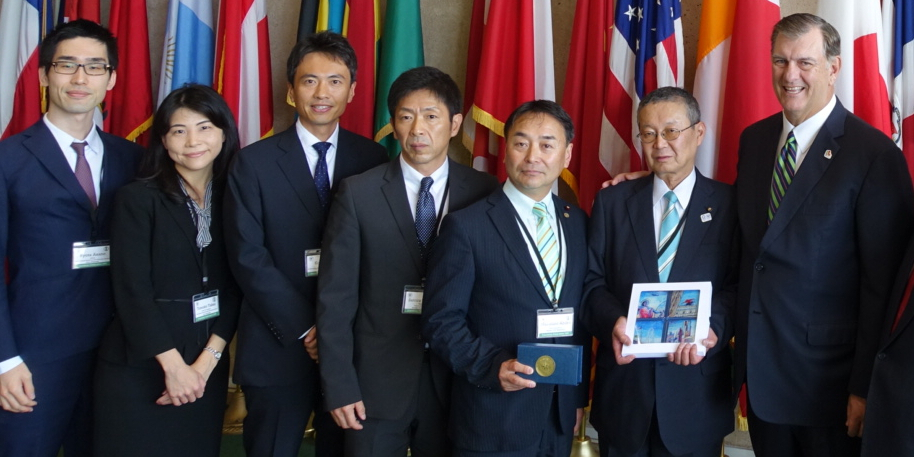 Sendai Vice Mayoral Delegation Visits Dallas