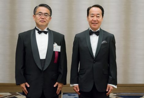 Governor Hideaki Ohmura and Shinsuke Takahasi Honored at Sun & Star Legacy Award Dinner