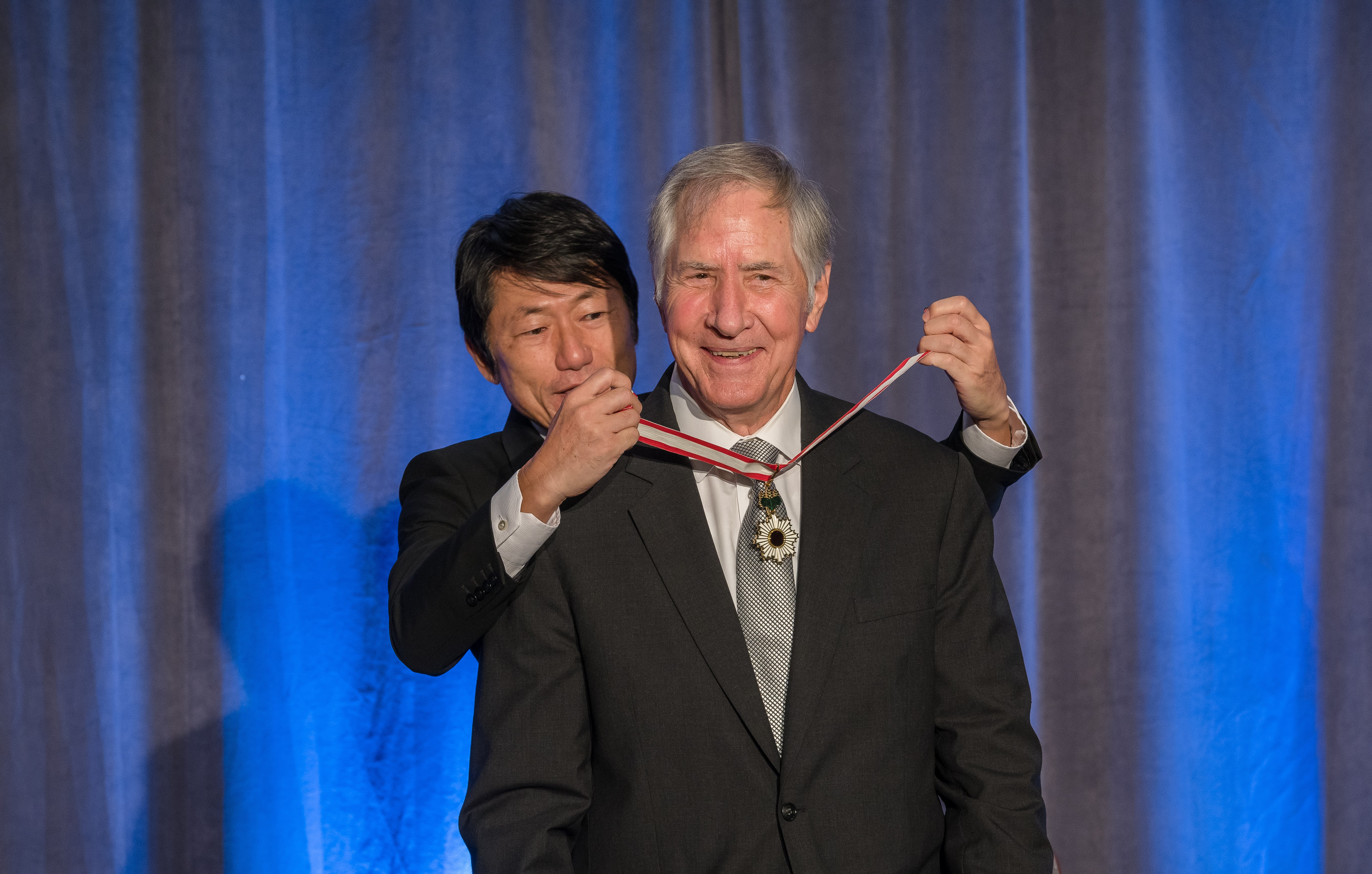 Long-time Honorary Consul-General Receives Order of the Rising Sun From Government of Japan